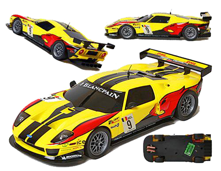 "Ninco 55073 Ford GT ""DHL"" Ninco1-Plus"