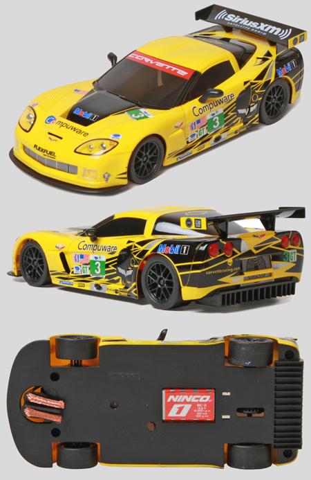 Ninco 55082 Corvette Z06R GT2, Compuware, Ninco1