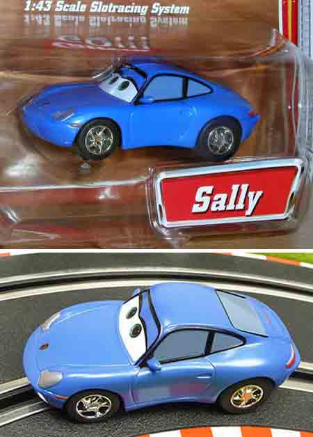 "Carrera 61184 Disney ""Cars"" Sally, 1/43 scale"