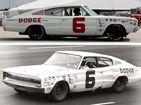 Monogram 85-4842 1966 Dodge Charger, David Pearson
