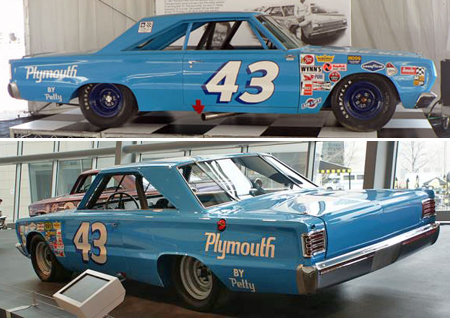 Monogram 85-4845 1967 Plymouth, Richard Petty