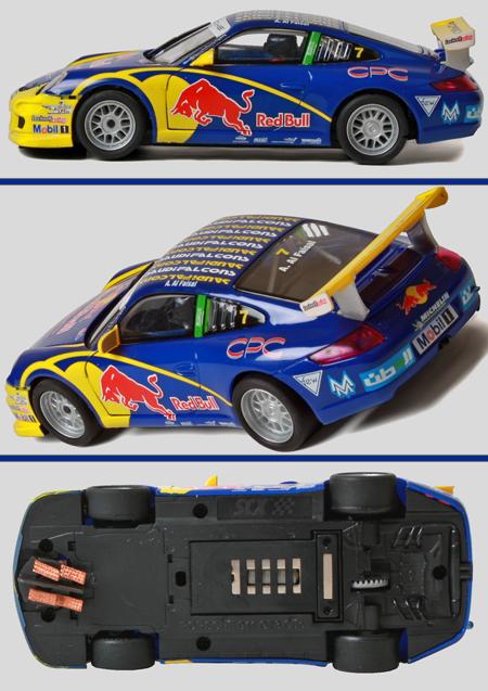 SCX A10119X300 Porsche 911GT3, Red Bull