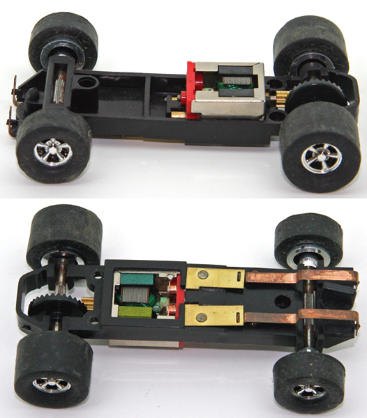nike air force 1/43 slot car chassis