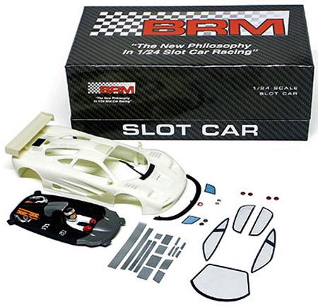 BRM G-01W A/O McLaren F1GTR unpainted body kit