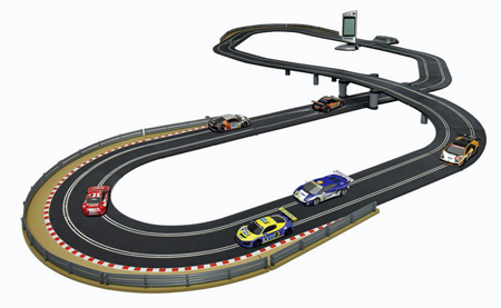 Scalextric C1276T Digital Platinum race set - $799.99
