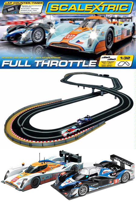 Scalextric C1279T Full Throttle race set