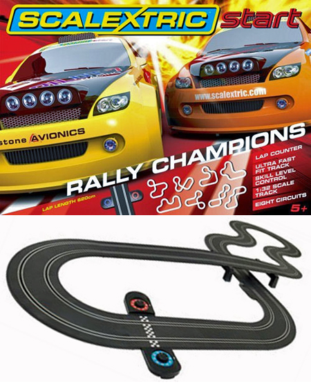 Scalextric C1287T Start Rally Champions race set