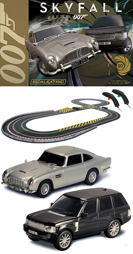 Scalextric C1294T James Bond Skyfall race set