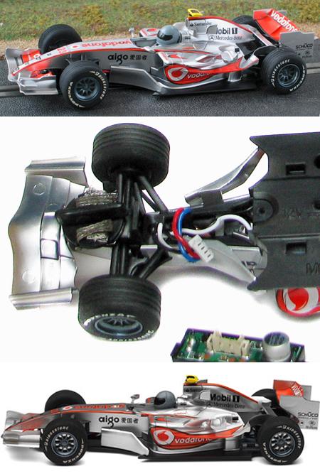 Scalextric C2866 McLaren F1, 2008, H. Kovalainen