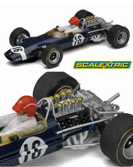 Scalextric C3092 Lotus 49 F1, Jo Siffert, 1969