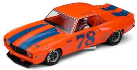 Scalextric C3108 1969 Camaro, Richard Lind, SVRA