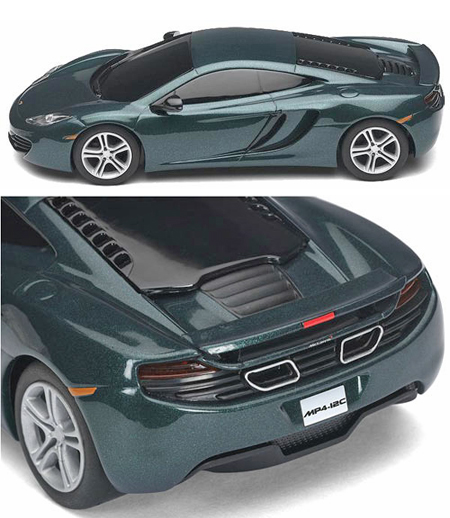 Scalextric C3273 McLaren Mp4-12C, green