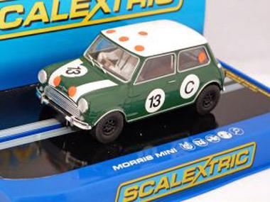 Scalextric C3302 Classic Mini Cooper S, Bob Holden