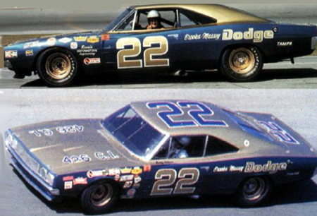 Scalextric C3323 Dodge Charger, Bobby Allison