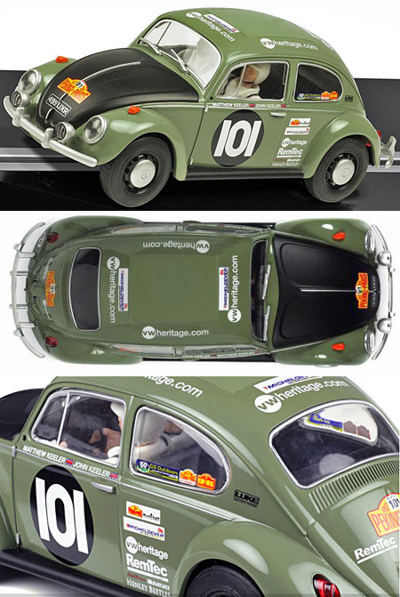 Scalextric C3361 1963 Volkswagen Beetle rally car