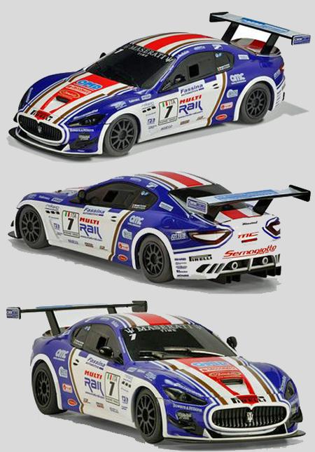 Scalextric C3380 Maserati Trofeo