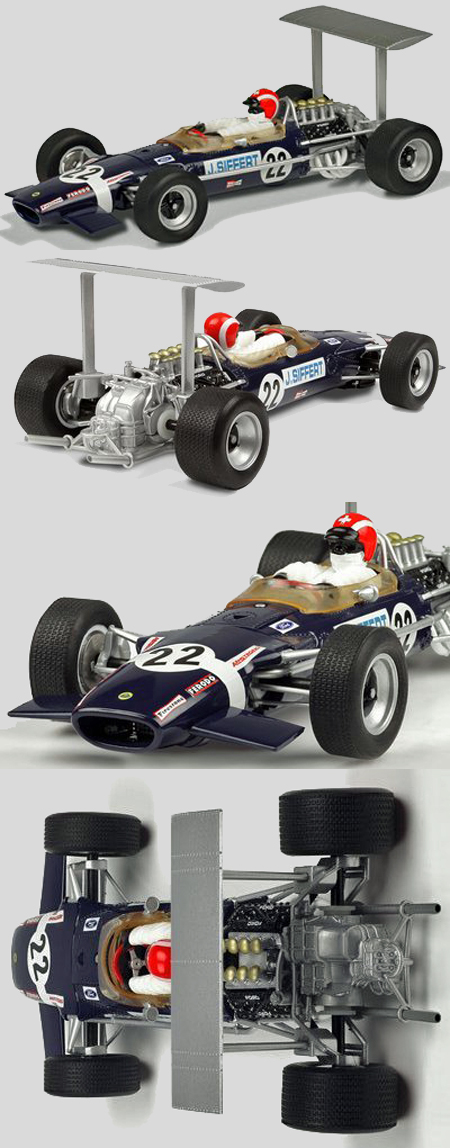 Scalextric C3413 Lotus 49B Jo Siffert 1968