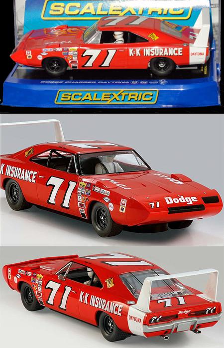 Scalextric C3423 Dodge Daytona, Bobby Isaac, NASCAR 1970