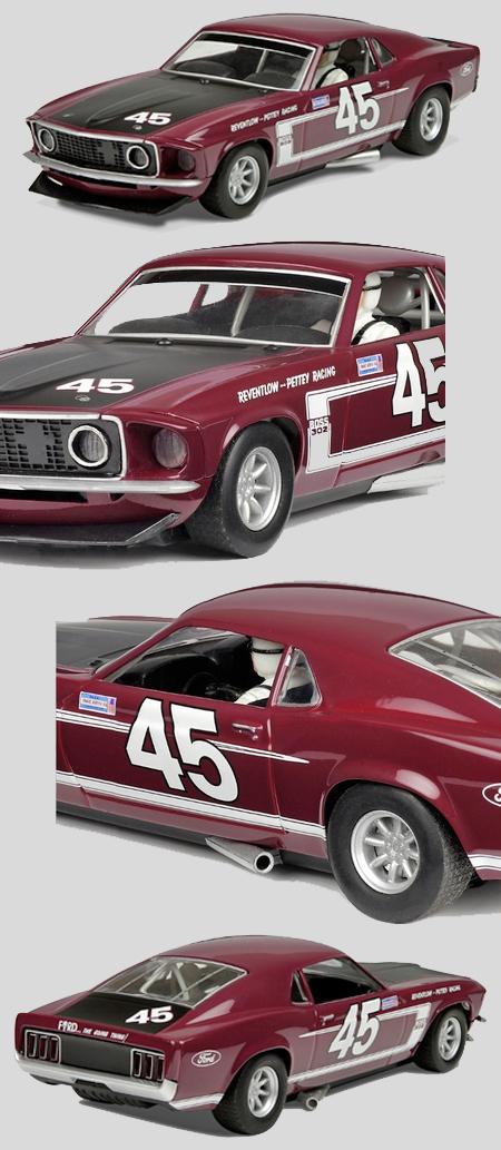 Scalextric C3424 1969 Mustang, Paul Pettey
