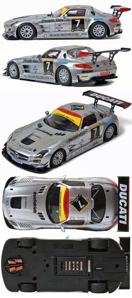 SCX D10030X300 Mercedes SLS GT #7