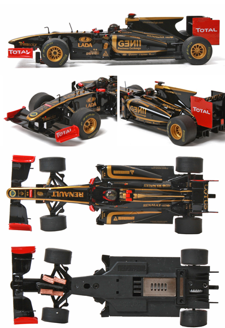 SCX D10040X300 Lotus Renault F1, digital
