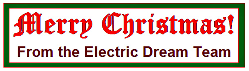 Merry Christmas From Electric Dreams!