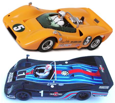 EDSET-01 McLaren M6A & Porsche 936 2-car pack