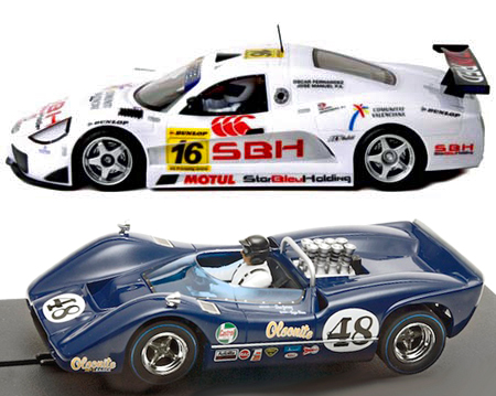 EDSET-03 McLaren M6B & Sunred 2-car pack