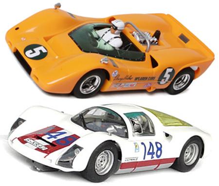 EDSET-04 McLaren M6A & Porsche 906 2-car pack