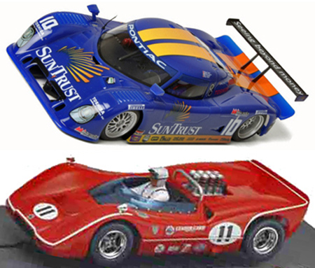 EDSET-08 McLaren M6B & Fly Riley DP 2-car pack