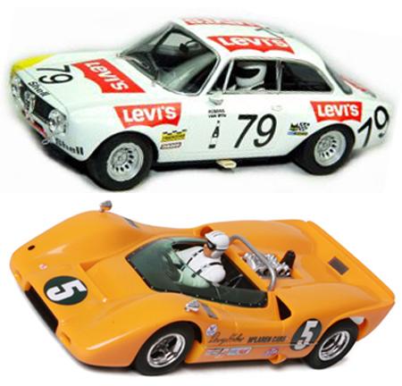 EDSET-12 McLaren M6A & Alfa Romeo 2-car pack