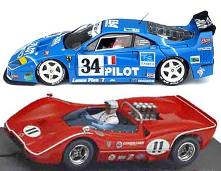 EDSET-13 McLaren M6B & Ferrari F40 2-car pack