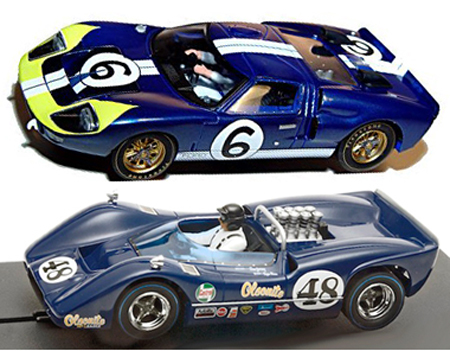 EDSET-18 McLaren M6B & Fly Ford GT40 2-car pack