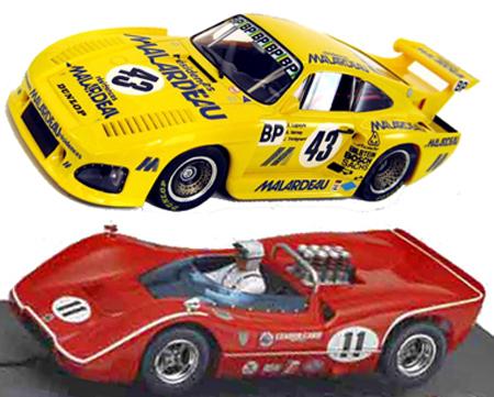 EDSET-20 McLaren M6B & Porsche 935 2-car pack