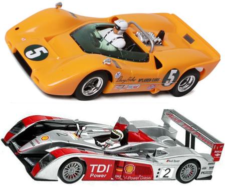 EDSET-29 McLaren M6A & Avant Slot Audi R10 2-car pack