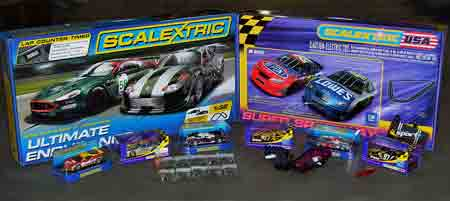 ED1001 Ultimate Scalextric 2-lane Race Layout with modern cars
