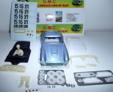 MMK GMCS01/2 Ferrari 250GT SWB LeMans, light met.blue, KIT