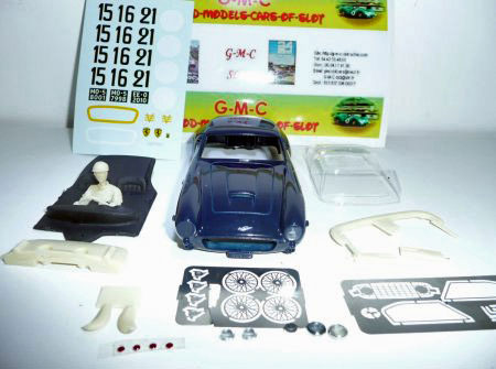 MMK GMCS01/3 Ferrari 250GT SWB LeMans, dark.blue, KIT