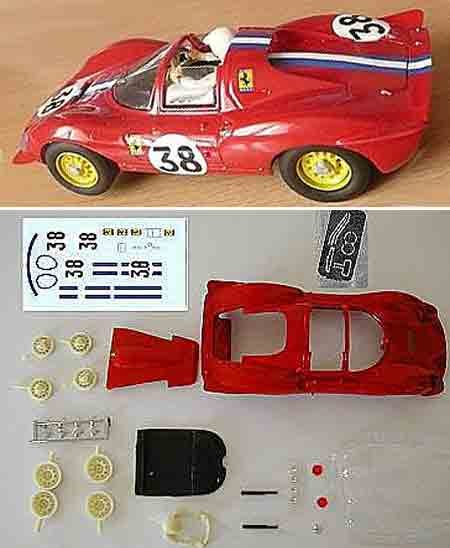 GMCS05/2 Ferrari Dino spyder painted body kit