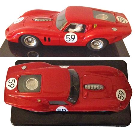 MMK 51 Ferrari 250 Drogo, LeMans 1963