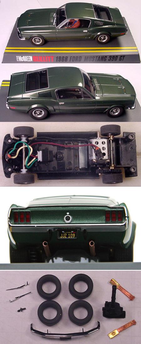 Pioneer P001G Bullitt Mustang, green taillight panel