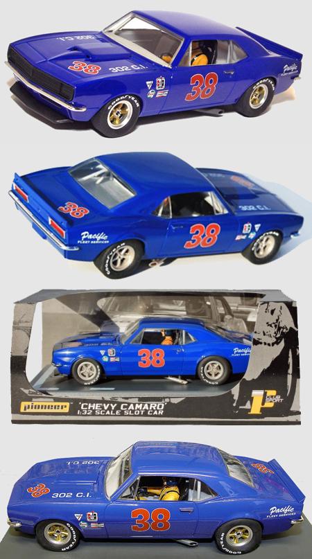 Pioneer P014 67 Camaro, blue