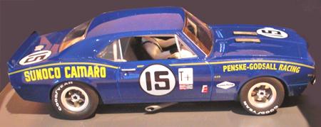 Pioneer P018 67 Camaro, Penske Racing, Sebring 68