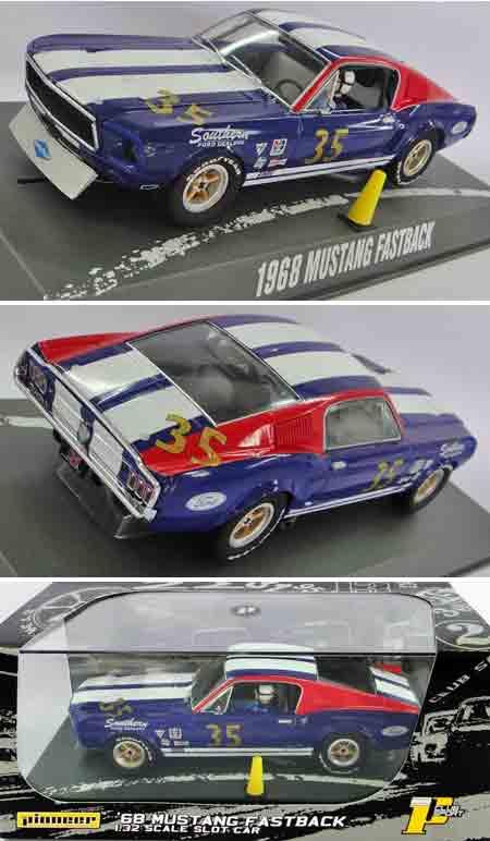 Pioneer P030 1968 Mustang fastback #35