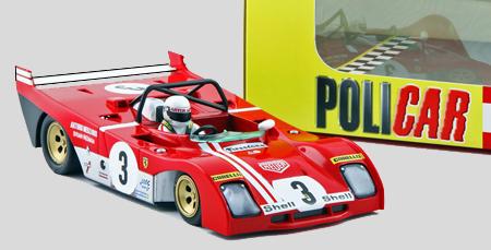 Policar R01A Ferrari 312PB, Monza 1972