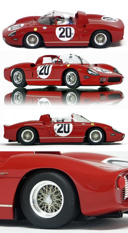Racer RCR58B Ferrari 275P 1964 LeMans winner