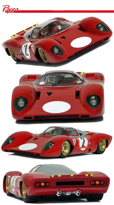 Racer RCRG5 Ferrari 312P aero test car