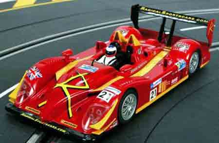 Scale Auto SC6009 Radical SR9 LMP, LeMans 2007