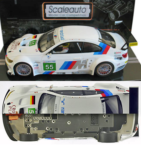 Scale Auto SC7035 BMW M3 GTR GT2, #55,LeMans 2011. 1/24 scale