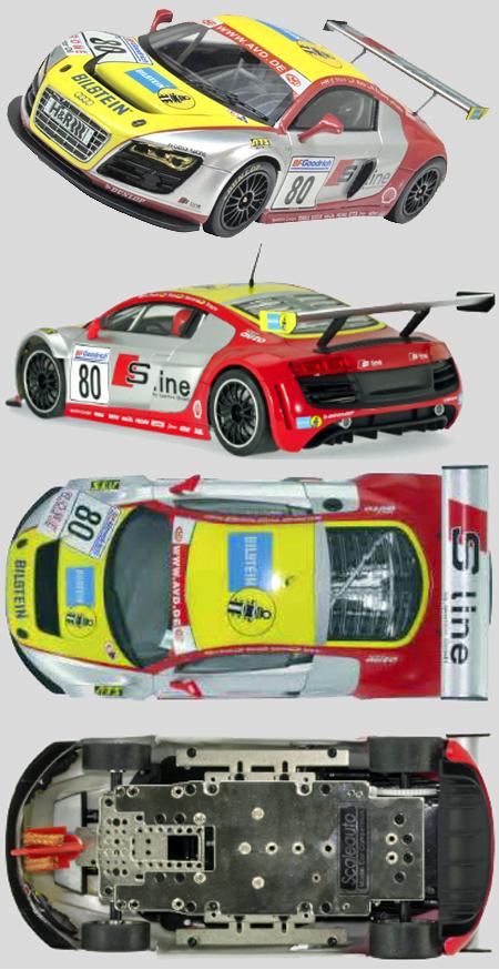 Scale Auto SC7045 Audi R8 LMS, Phoenix Racing, 1/24 scale